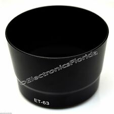 Camera Lens Hood ET-63 for Canon EF-S 55-250mm f/4-5.6 IS STM e182
