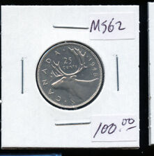 1948 Canada 25 Cents MS62 DC107