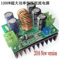 1200W 20A CC/CV Boost Converter DC 8V-60V to 12V-80V Step-up Power supply Module