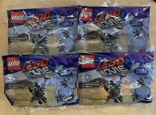 LEGO 30528 The Lego Movie 2 3 in 1 Toy//Lego Mixels 41518 Bundled of 4
