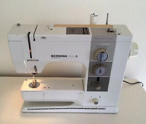 BERNINA Matic 910 Electronic Sewing Machine. Metal Frame, Swiss Made. Working.