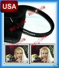 58mm Soft Focus Diffuser Lens Filter D#2 No.2 For portraits Weddings Canon Sony