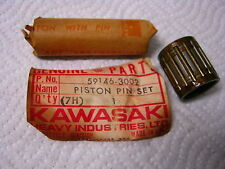 KAWASAKI PISTON PIN & NEEDLE BEARING SET 59146-3002 NOS/OEM
