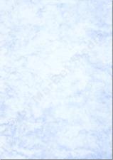 Marmorpapier A4 170g / m² 50 Blatt blau