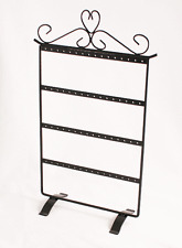 Black Metal Earring Display Stand for 32 Pairs (BD261-232) - Free delivery