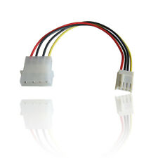 Molex Potencia interna unidad de disquete FDD Conector Convertidor de Cable de Alambre de plomo