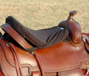 Cashel Western Foam Tush Cushion - Luxury  - Black