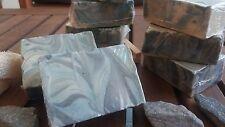 Masculine fresh shaving soap - extra virgin olive oil, vitaminE, bentonite clay