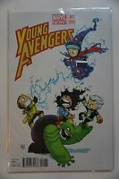 YOUNG AVENGERS #1 (2013) MARVEL NOW Skottie Young Variant