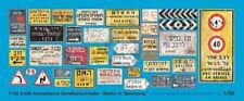 Peddinghaus 1/35 Real Israeli Road / Traffic Signs and Street Name Plates 3426