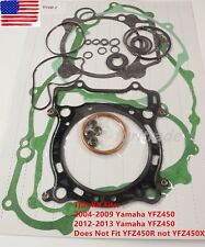 Complete Gasket Kit Top & Bottom End Set- YAMAHA YFZ450 YFZ 450 2004-2009