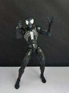 Marvel Select WEB OF SPIDER-MAN Black Suit ACTION FIGURE 2005 DIAMOND SELECT