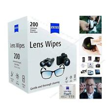 ZEISS LENS WIPES for High Quality Lenses Cameras Glasses Anti Scratch