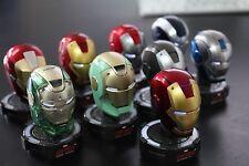 Iron Man 1/5 King Arts Deluxe Helmet series 4 Marvel Comic personaje display set nuevo