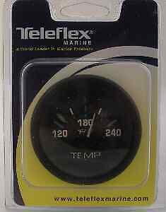 """Teleflex 68401P Eclipse I/O Water Temperature Gauge 2-1/8"""" 11786"""