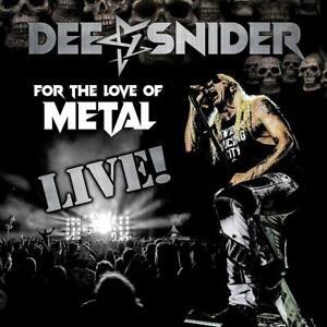 Dee Snider - For the Love of Metal-Live (2LP/DVD) 3LP NEU OVP