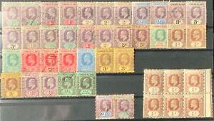 Leeward Islands #SG20//SG43 Mint/Used CV£475.00 1902 KEVII Collection