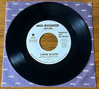 LYNYRD SKYNYRD FREE BIRD ORIGINAL WHITE LABEL FIRST PRESS PROMOTIONAL COPY 45