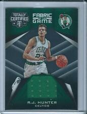 2016-17 PANINI TOTALLY CERTIFIED R.J Hunter Fabric of the Game Jersey