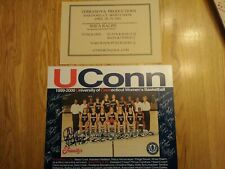 UConn Huskies  2000 Women's Basketball Team Photo w/ Shea Ralph Autograph