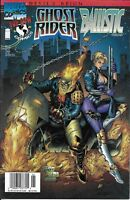 Ghost Rider And Ballistic Comic 1 Cover A First Print 1997 Warren Ellis Marvel