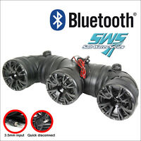 "Audiopipe 8"" ATV Off Road Sound System with Bluetooth 400W Max ( ATVP-3553BT )"
