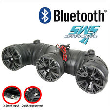 """New listing Audiopipe 6.5"""" Atv Off Road Sound System with Bluetooth 400W Max ( Atvp-3553Bt )"""