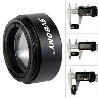 "SVBONY 1.25""( 31.7mm ) 0.5X Focal Reducer Thread  M28x0.6 for Telescope Eyepiece"