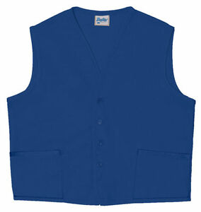 Daystar Aprons 1 Style 742 Two Pocket Vest Uniform Aprons ~ Made in USA
