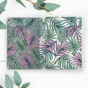 Tropical Palm Leaves Green Pink Case For iPad 10.2 Pro 12.9 10.5 9.7 Air 3 Mini
