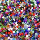 500 Abalorios de Cristal Tupis 4mm Bicone Colores Variados AB Crystal Beads