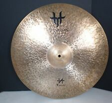 """Nice T-Cymbals 22"""" T-Natural Natural Light Ride Single Cymbal 2406g Light Use"""