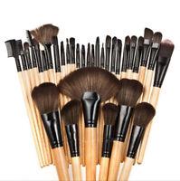 Pro 32 Pcs Makeup Brushes Cosmetic Tool Kit Eyeshadow Powder Brush Set Kit