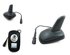 Shark Dachantenne Haiantenne 2 Empfangsverstärker Haiflosse Antenne für BMW Opel