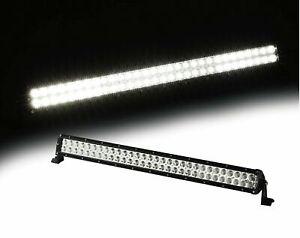 "Xprite 50"" 288W Straight LED Offroad Spot Flood Combo Work Light Bar Upper Light"