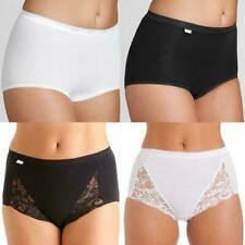 Ladies Briefs Womens Seamless 3 & 6 Pack Light Control Soft Comfy Maxi Knickers