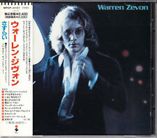 Warren Zevon S/T 1991 Japan CD Early Press With Obi WPCP-4151 OOP HTF Very Rare