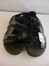 Men's Sandals Size 8M Coleman Excursion Series Sport Black Grey Adjustable NEW