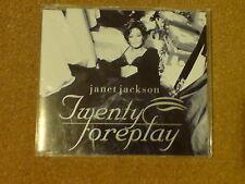 JANET JACKSON - TWENTY FOREPLAY - CD SINGLE