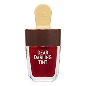 ETUDE HOUSE Dear Darling Water Gel Tint Ice Cream RD308 Honey Red   Vivid Lip to