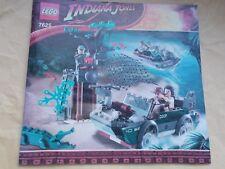 Faded frontcover Set 7625 instrucciones solo para Lego Indiana Jones-Río Chase