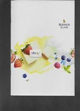 SINGAPORE AIRLINES BUSINESS CLASS MENU SIN-HKG-SFO TABLE RESERVED-WINES 2015