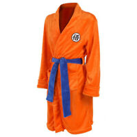 Adult Bathrobe Dragon Ball Cosplay Son Goku Costume Bath Robe Sleepwear Pajamas