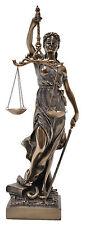 Veronese Bronze ~ LADY Of JUSTICE ~ Sculpture Ornament  LA JUSTICA Figurine