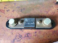 Weston Electrical Instrument Corp 5 Amp Shunt 50 Mv Drop Model 301