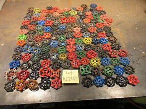 151 NICE IRON  Metal water Faucet Knobs valve handles STEAMPUNK Industrial art