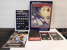 1979 Mattel Intellivision Space Armada Video Game