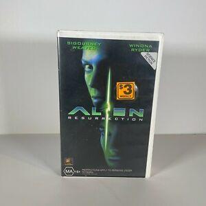 Alien Resurrection VHS