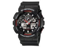 Casio G-Shock Men's 50mm GA100-1A4 Watch - Black/Red