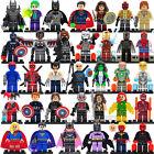 Lot 34 Pcs MiniFigures Lego Super Heroes MARVEL.DC Series Batman Superman